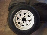 5.30-12 Trailer Rim and Tire