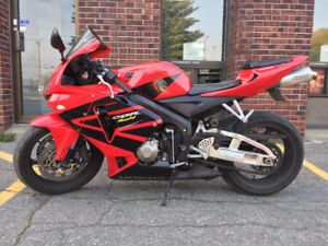 2006 Honda CBR 600 RR + Manteau/Jacket + Original Exhaust