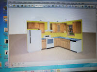 Kitchen cabinets 10x10 promo 1800 plus shipping  6479791245