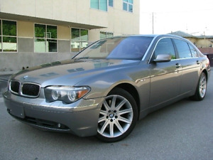 2004 BMW 7 SERIES 745i !!!! LUXURY NAVIGATION LOADED !!!THE BOSS