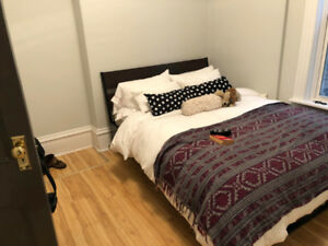 BRAND NEW Ikea Bed Frame and Queen Size Mattress!