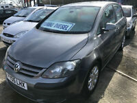 05 REG Volkswagen Golf Plus 1.9TDI PD ( 105PS ) SE