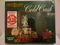 1983 MONEY$WORTH COLD CASH PUZZLE-Still Sealed-OLD Cdn CURRENCY!