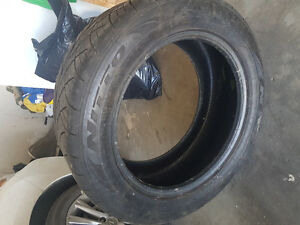 BARELY USED TIRES! ACCEPTING OFFERS