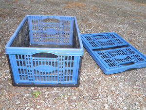 new lightweight Folding Storage Crates that collapse