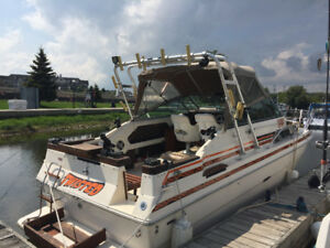 1984 Sea Ray 260 Mercuiser, Alpha 1 Ready for fishing!