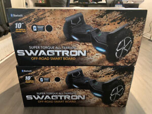Used: Swagtron T6 off Road Hoverboard + Go-Kart Attchment!