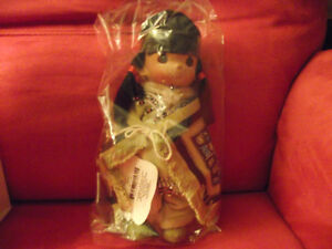 Precious Moments Mahkeen Tlingit girl doll - new in box