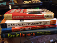 4 books for sales/marketing professionals