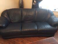 Three piece sofa, free to uplift.