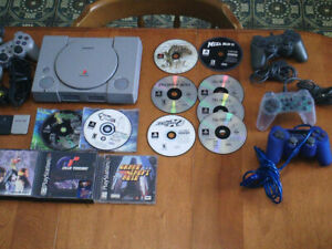 Sony Playstation PS1, PS2, PS3, PSP video games
