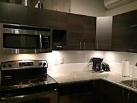 FURNISHED CONDO LOFT DOWNTOWN MONTREAL MEUBLE SEPTEMBER