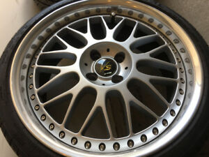 18 inch custom Work Wheels (3 piece)