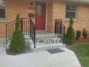 Custom Railings, Hand Rails, Stairs,Ramps, Guard Railing Systems London Ontario image 2