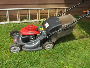 Looking for push mower with Honda engine