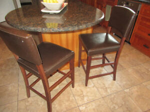 Leather Bar stool chair