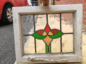 Reclaimed windows -lead and glass