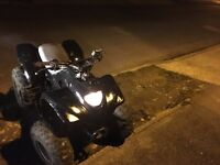Apache quad 100cc auto fully working