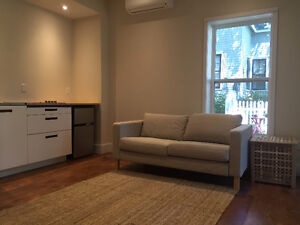 Renovated and tastefully furnished one bed home in an old house