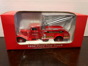Diecast 1934 Ford Model Tow Truck