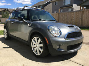 2007 MINI Cooper S, turbocharged, 6 speed Manual