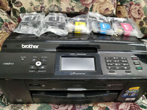 Brother All-in-One Printer With Extra Ink