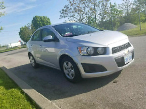2012 CHEVROLET SONIC with safety the price 4700$