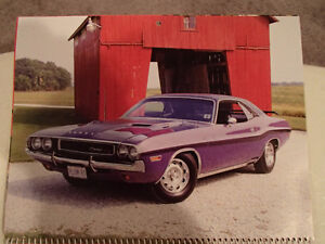 New 2002 GEAT AMERICAN CARS 12 Month CALENDAR. Issued by AKZO NO Sarnia Sarnia Area image 7