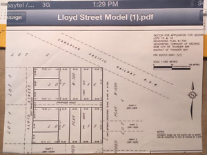Developers and investors - 14 Lot proposed plan of subdivision