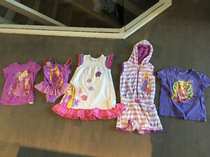 Size. 7 youth girl clothes swimsuits pjs - all Disney store