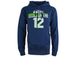 Seattle Seahawks men's hoodie & 2 hats/caps