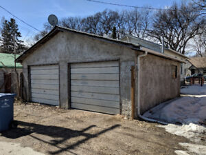 24x24 Garage for rent West End near Wall and Erin