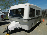 LITTLE BEAUTY...17'BIGFOOT ALL FIBREGLASS....EASY TO TOW