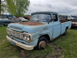 Wanted 1957 to 1966 F100 Truck