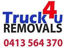 TRUCK4U REMOVALS  ( Utes/Vans/Trucks) Rockdale Rockdale Area Preview