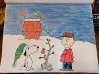 Christmas Window Artist