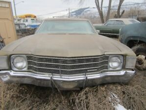 1972 Chevelle station wagon project, Olds Vista Cruise parts