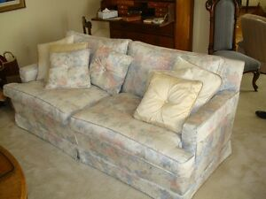 Custom Matching Love Seat Sofas - 2 for $600