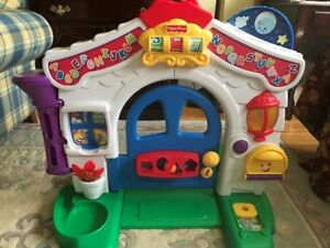 Porte interactive Fisher Price - learning home