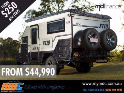 MDC XT10 OFFROAD CARAVAN MARKET DIRECT CAMPERS Campbellfield Hume Area Preview