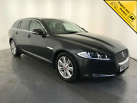 2014 JAGUAR XF LUXURY DIESEL AUTOMATIC 161 BHP 1 OWNER SERVICE HISTORY FINANCE