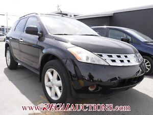 2004 NISSAN MURANO SE 4D UTILITY AWD SE