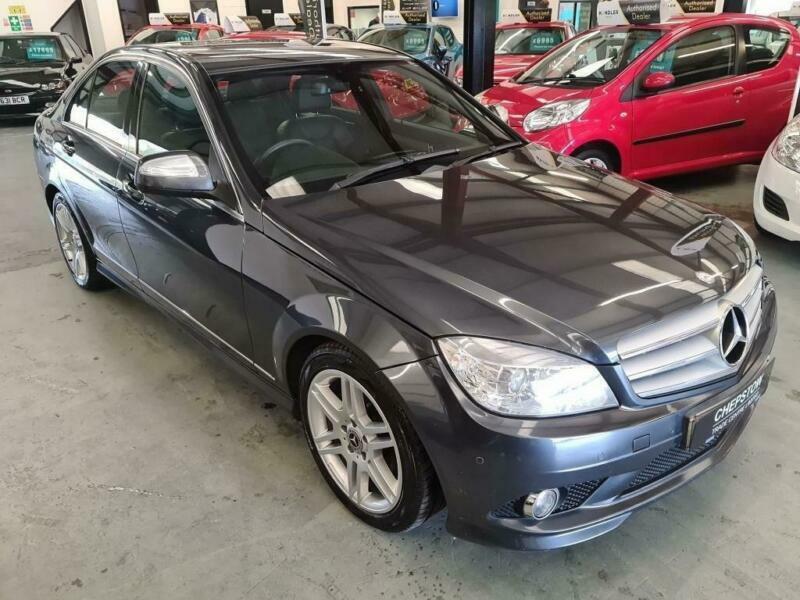2008 Mercedes-Benz C220 CDI SPORT-FSH-GREAT SPEC-GREY-AUTO-GRAB YOURSELF A BARGA