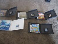 DS Games w/case and handbooks for sale!