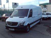 Mercedes-Benz Sprinter 313cdi lwb High Roof 130ps DIESEL MANUAL WHITE (2014)