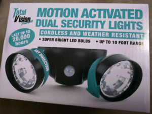 True Vision Motion Dual Security Lights