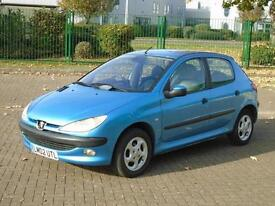 PEUGEOT 206 1.4 GLX... * Trade PX To Clear * NEW MOT * 2002 Petrol Manual