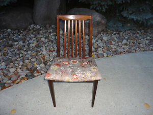 Solid Walnut Midcentury Chair...Excellent Condition