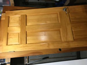 Solid pine Colonial doors
