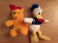 Winnie and Donald Duck